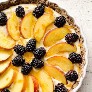 Light Peach & Berry Tart