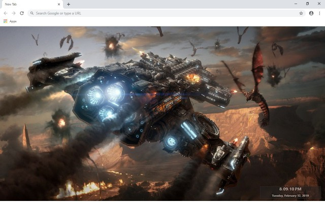 StarCraft II New Tab & Wallpapers Collection