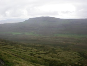 Photo: PW - Pen-y-Ghent seen from Fountains Fell