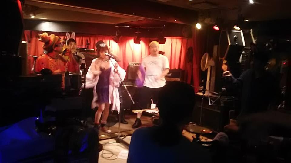 2017/04/29 土・祝。ドドコ&ふくおかかつひこ企画「東京クレイジークレイジーワロタ」@新宿御苑Ruto
