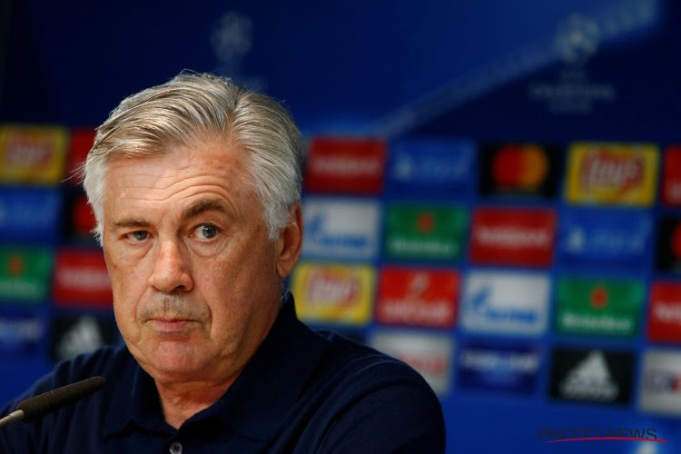Ancelotti clair quant à l'avenir de deux de ses joueurs