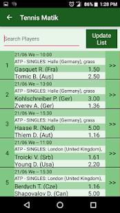 TennisMatik - náhled