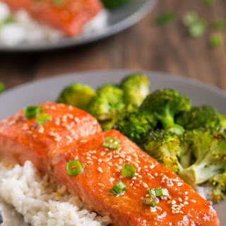 Salmon Fillet With Rice Recipes