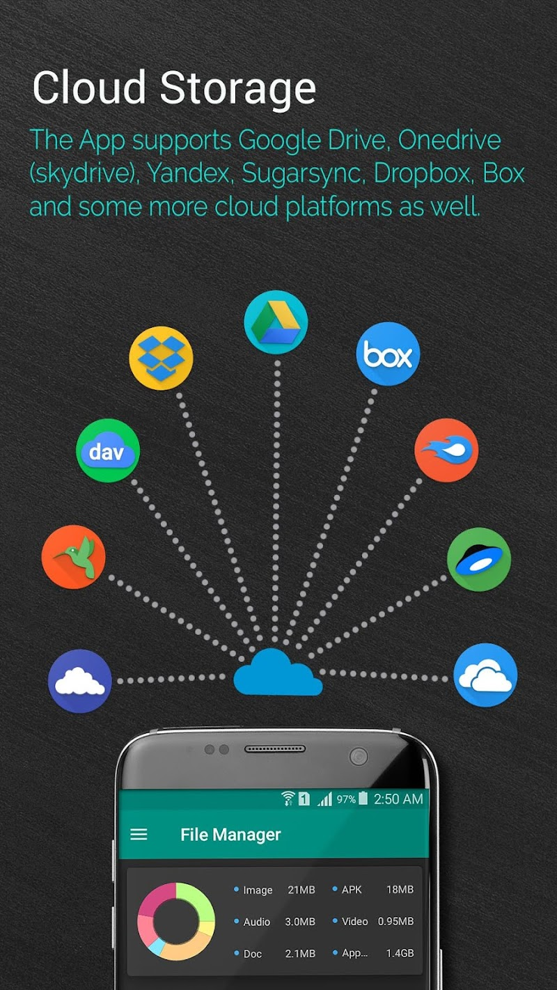 File Manager - Local and Cloud File Explorer Screenshot 2