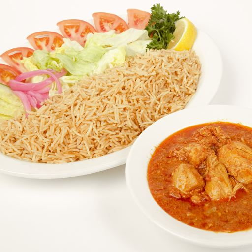 #13 Curry with Rice Platter