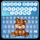 Urso de peluche teclado icon