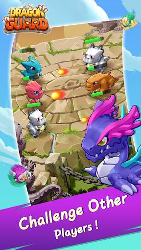 Code Triche Dragon Guard: Merge & Defense APK MOD (Astuce) screenshots 5
