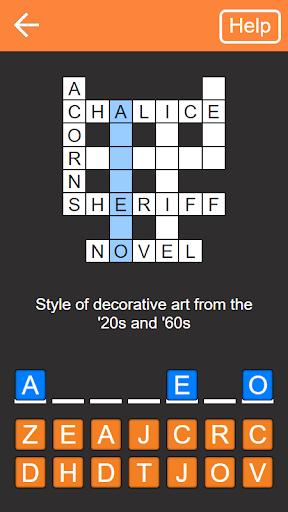 Code Triche Quick Crosswords (English) APK MOD screenshots 1