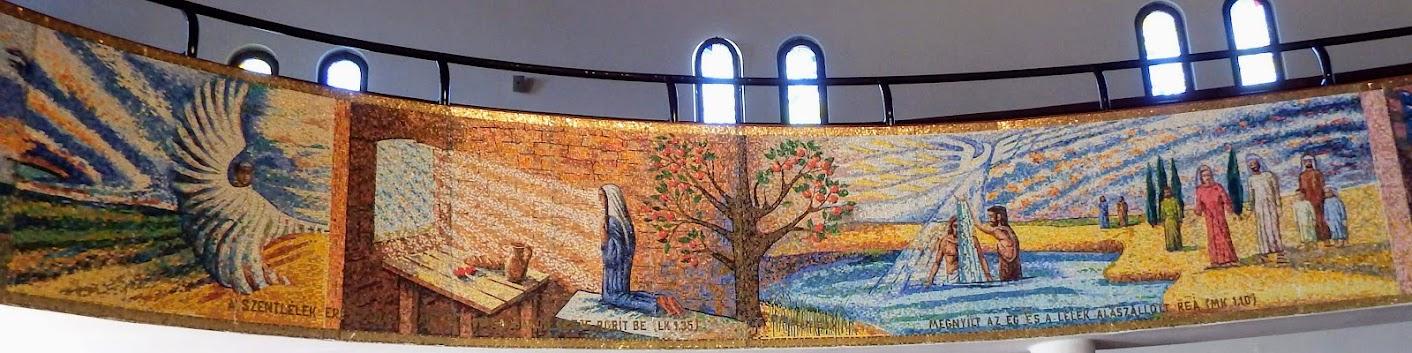 Győr-Nádorváros - Szentlélek rk. templom a nádorvárosi köztemetőnél, templombelső