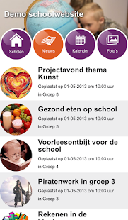 Schoolwebsite.nu- screenshot thumbnail