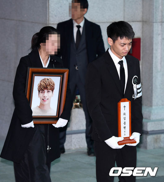 SHINee Jonghyun's Funeral And Burial Are Happening Right Now
