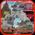 UK Holidays:Hotel Reservation icon