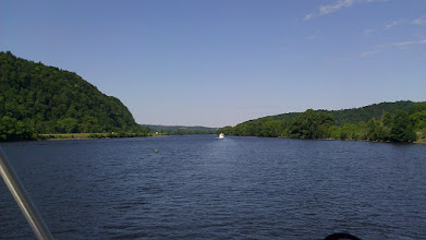 Photo: The Mohawk River portion of the Erie Canal