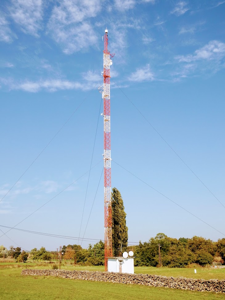 Mohács/Porond - helyi DVB-T adóállomás