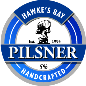 Logo of Hawkes Bay Pilsner