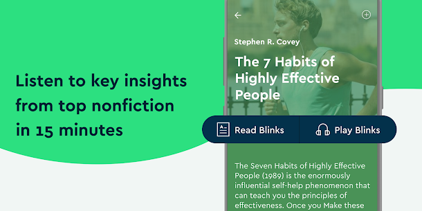 Blinkist – Nonfiction Books App Latest Version Download For Android and iPhone 1