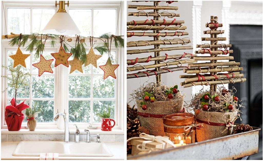 tendencias decorativas Navidad 2019/2020 reciclaje