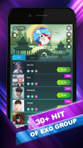 EXO Hop: Obsession KPOP Music Rush Dancing Tiles! 5.0.0.6 screenshots 1