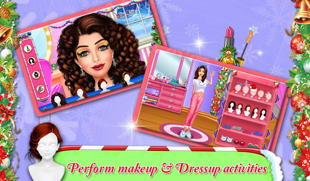 Christmas Pajama Party : Girls Pj Party- screenshot
