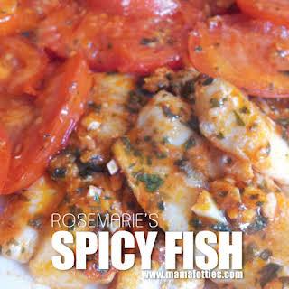 Spicy Fish.