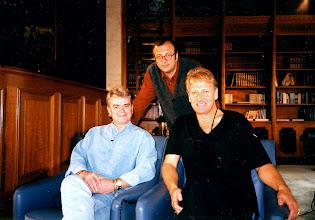 Photo: Hangin' wif ma boyz. With Russell & Graham of Air Supply, Island Shangri-la, Hong Kong - many tours ago.