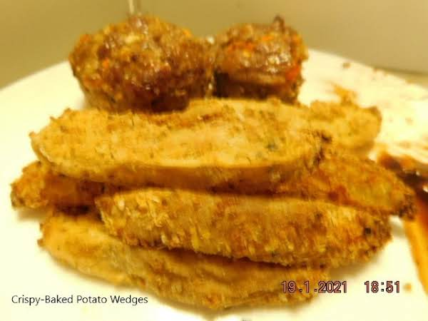 Crispy-baked Potato Wedges