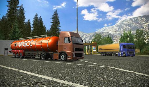 Truck app for simulator