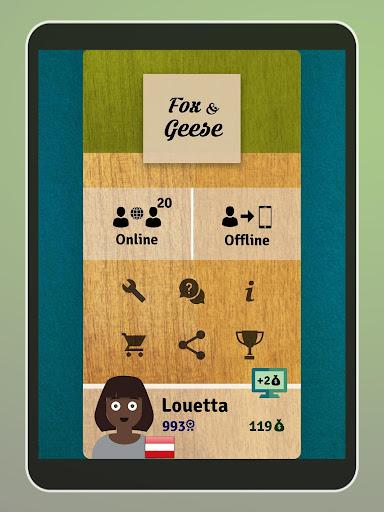 Fox and Geese - Online Board Game apkdebit screenshots 20