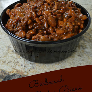 Barbecued Slow Cooker Beans