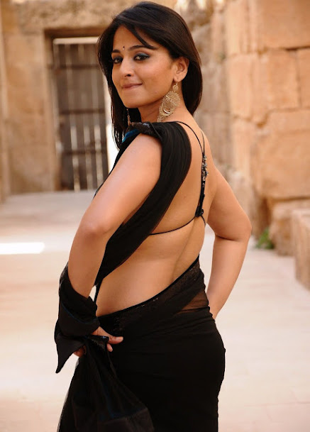 anushka shetty, anushka shetty sexy back, anushka shetty backless