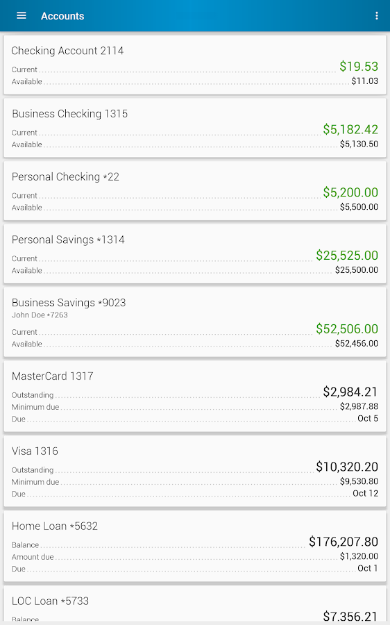 People Driven Credit Union- screenshot