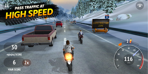 Highway Rider Motorcycle Racer  screenshots 2