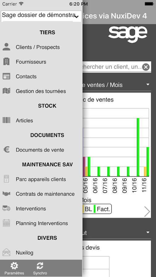 Sage APIservices via NuxiDev- screenshot
