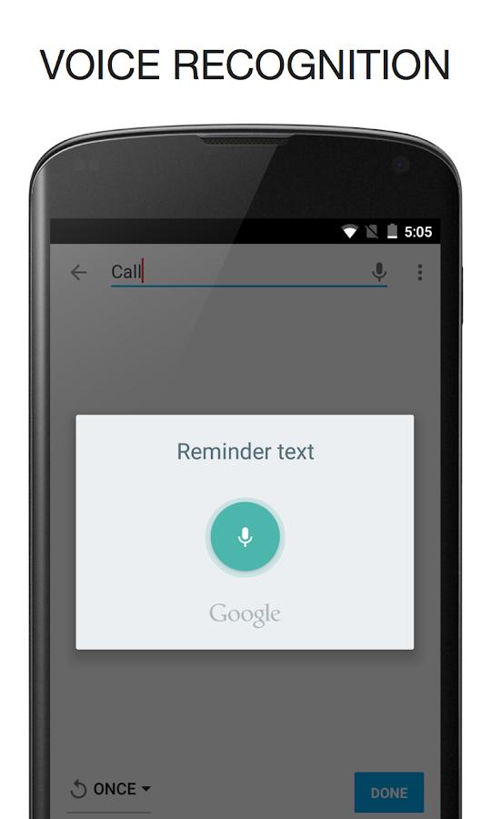 BZ Reminder- screenshot