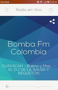 Bomba Fm Colombia- screenshot thumbnail
