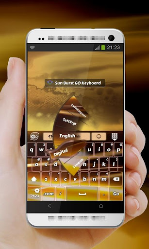 無料个人化AppのサンバーストSanbāsuto GO Keyboard|記事Game
