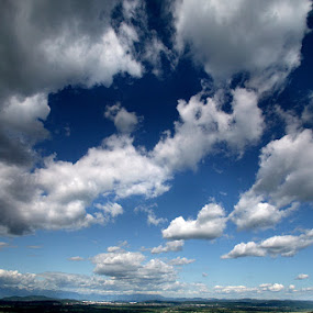 beautiful day by Gregor Znidarsic - Landscapes Cloud Formations ( free, green, summer, cloud, sun,  )