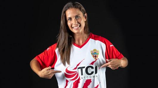 Adriana Díaz se une a la familia del Almería Femenino