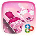 Rosa Menina GO Launcher icon