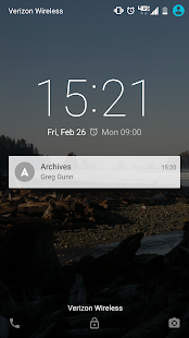 Archives + Absences- screenshot thumbnail
