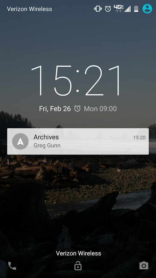Archives + Absences- screenshot