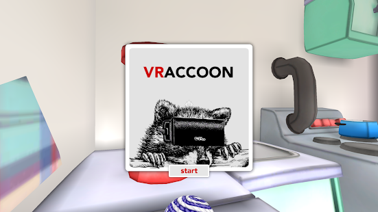 VRaccoon (Cardboard VR game) Screenshot