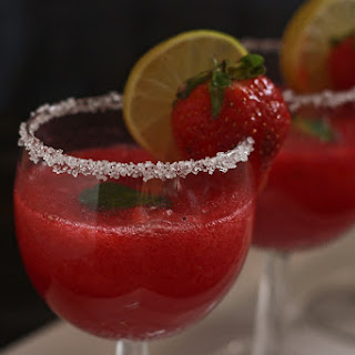 Non Alcoholic Strawberry Punch