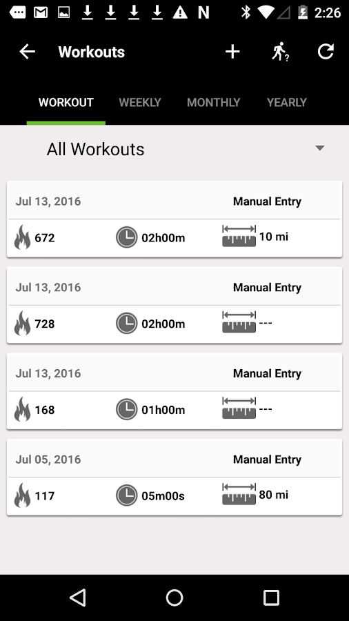 MUV Fitness- screenshot