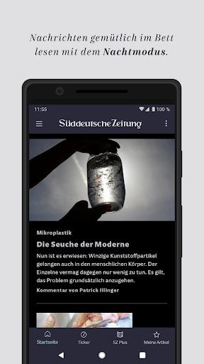 SZ.de - Nachrichten - Süddeutsche Zeitung 12.0.0 screenshots 3