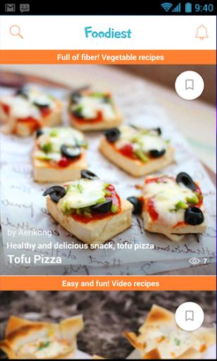 Foodiest: K-Food Recipes screenshot