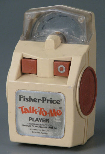 Record player:Fisher-Price Talk-to-Me Player