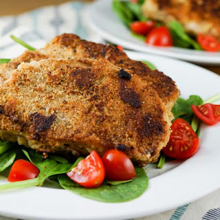Crispy Almond Crusted Pork
