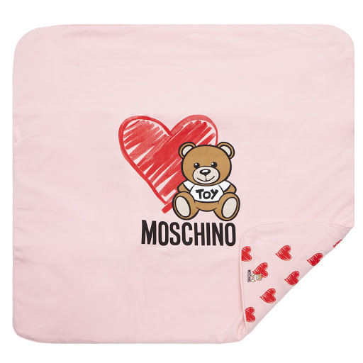 Thumbnail images of Moschino Pink Blanket