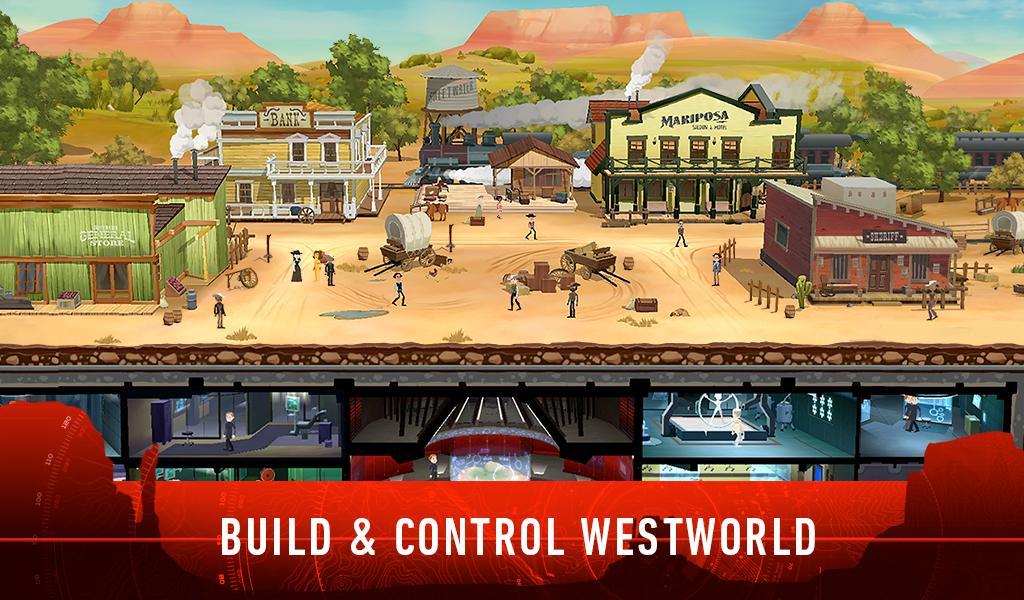 Westworld – zrzut ekranu